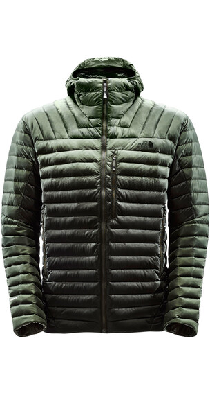 The North Face M's Summit Series L3 Jacket Rosing Green-Climbing Ivy Green Print
